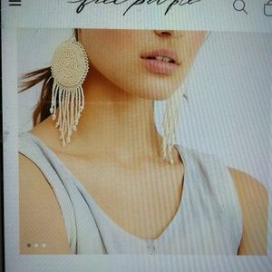 Free people Sophie earrings in collaboration